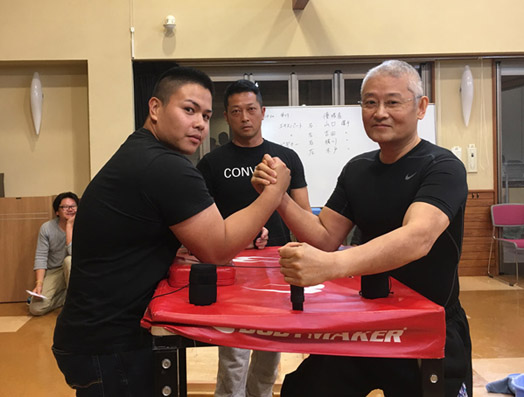 Local Armwrestling Tournament ...